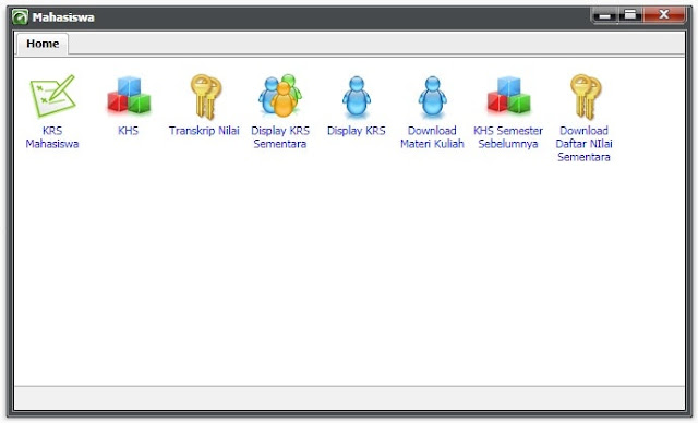 Aplikasi SIA USM, Portal Sistem Informasi Akademi Universitas Semarang