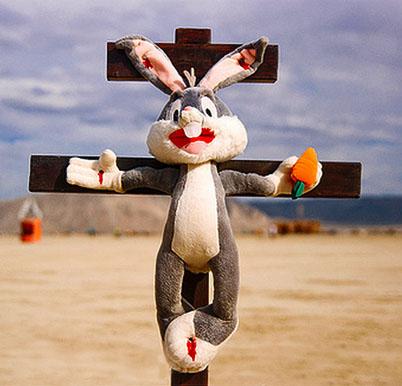 Resultado de imagem para coelho crucificado