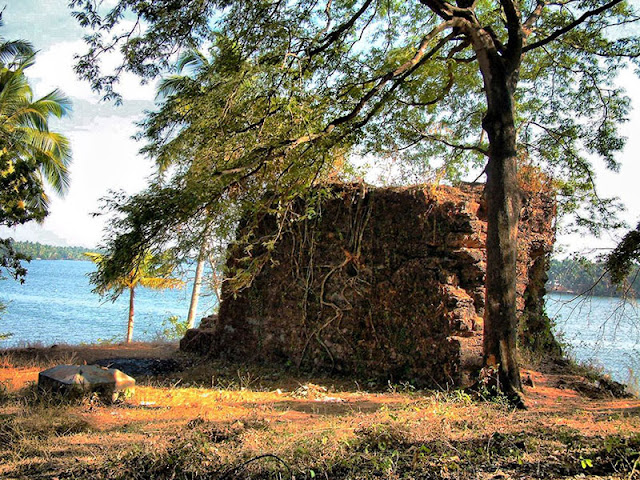 Dutch forts in Cochin