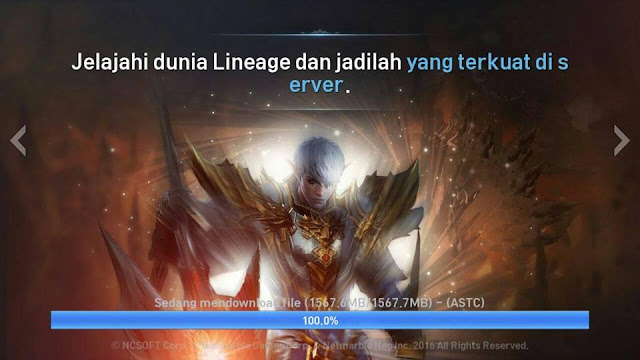 Cara Mengatasi Stuck Patch Update Lineage 2 Revolution Indonesia
