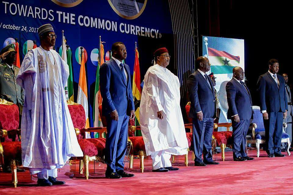 Buhari Rules Out Ecowas Currency By 2020