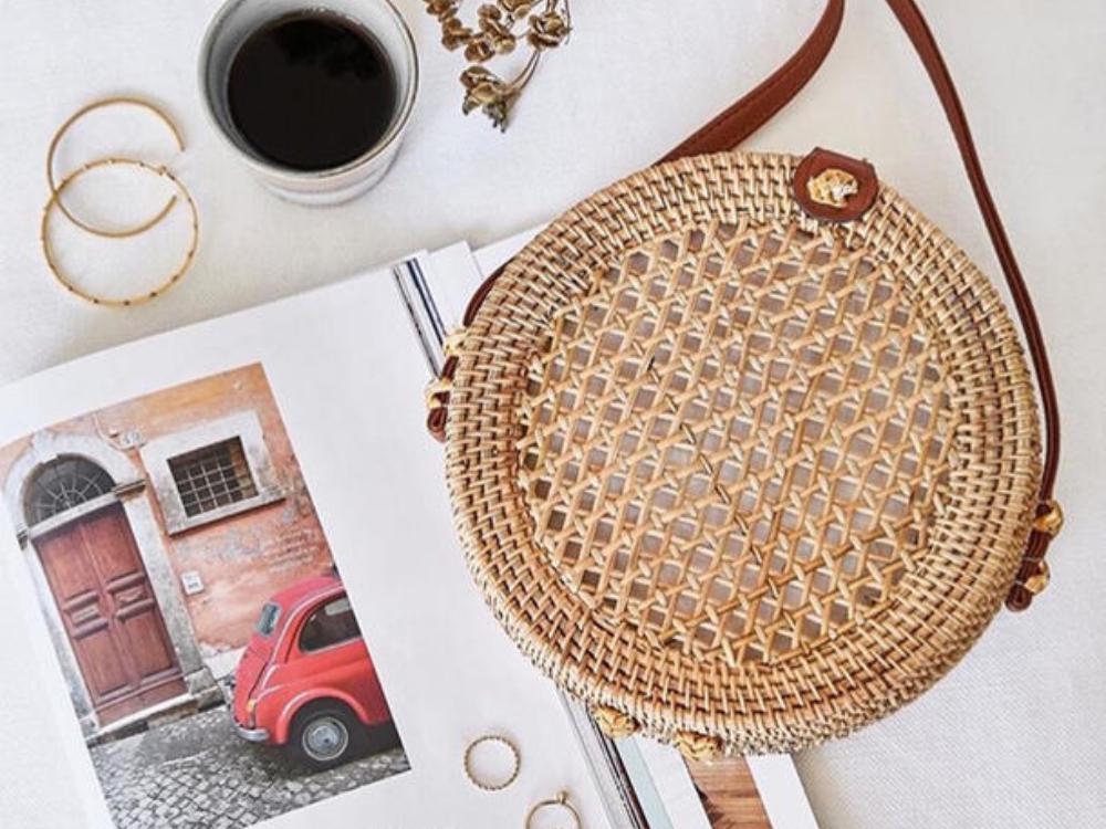 Mega hip und erstaunlich erschwinglich: Die neuen Circle Bags im Bali Style