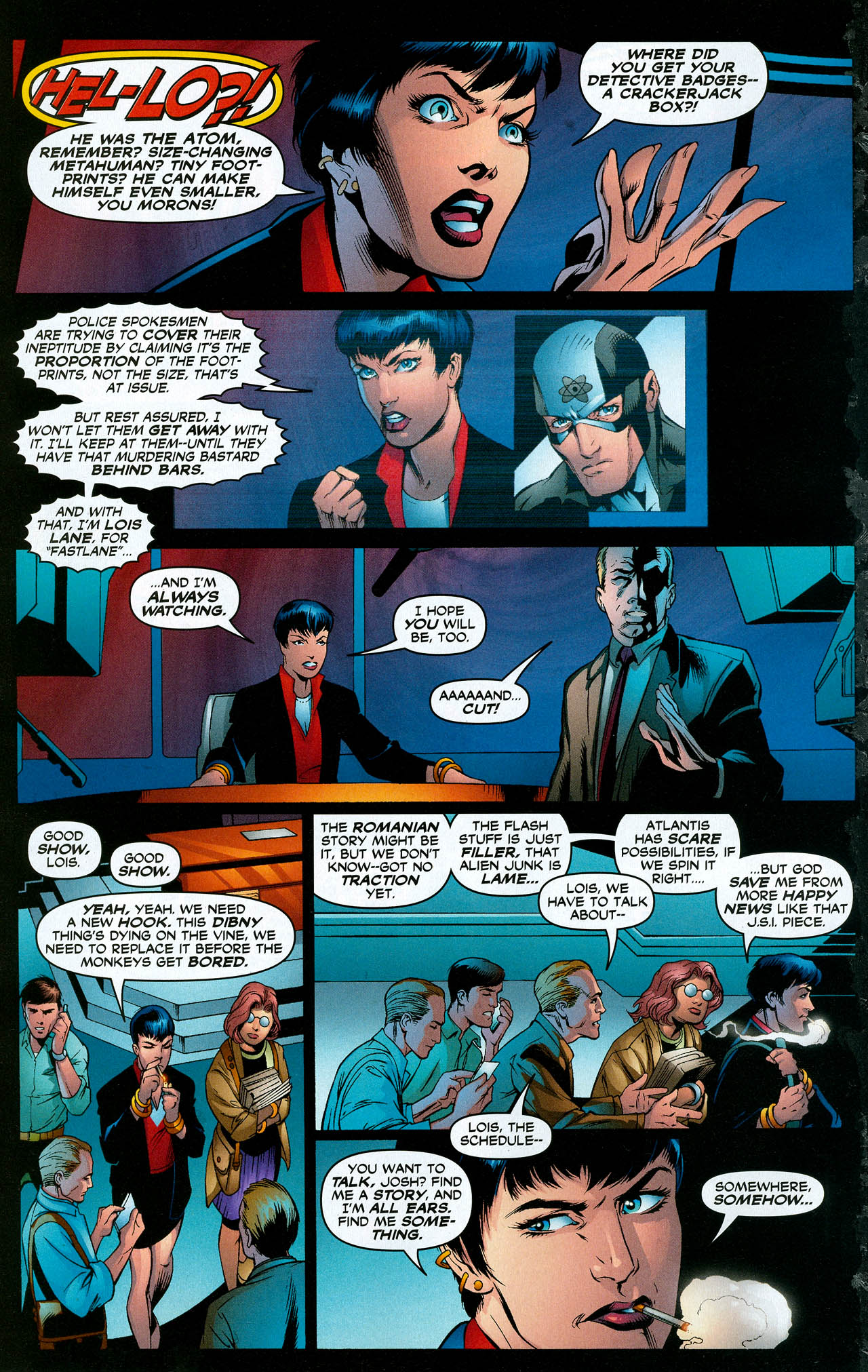 Read online Trinity (2008) comic -  Issue #18 - 15