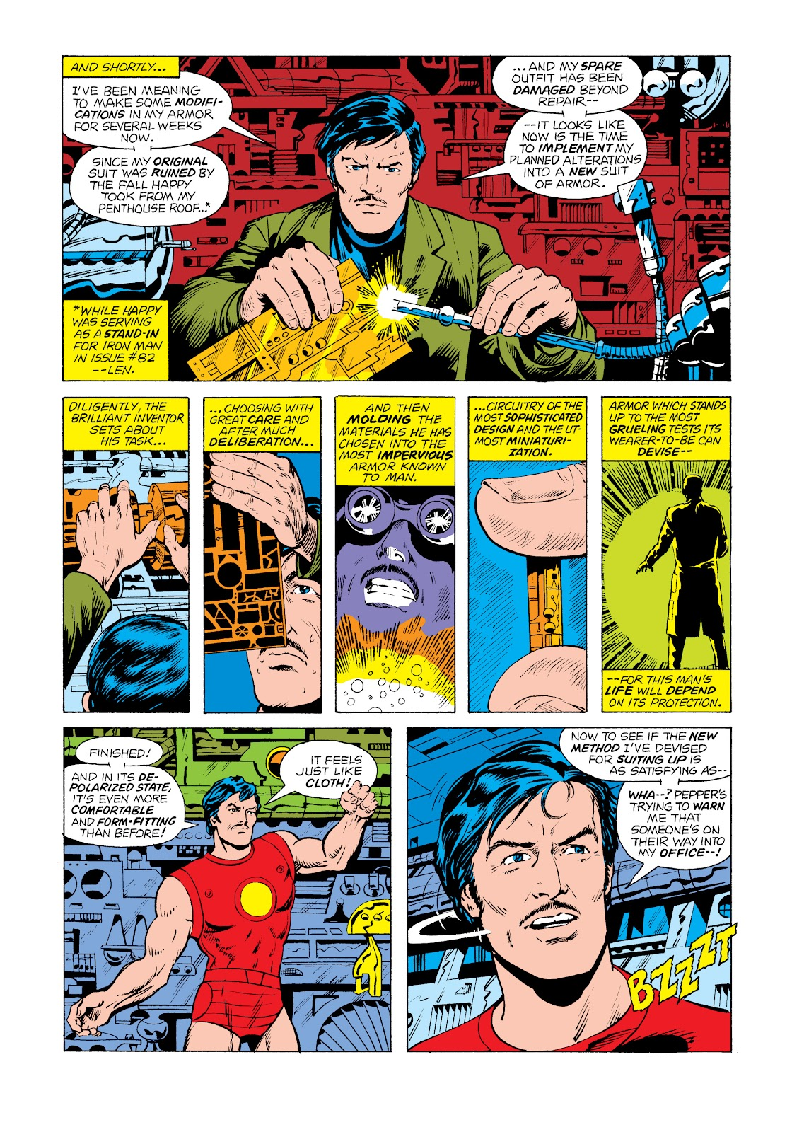 Read online Marvel Masterworks: The Invincible Iron Man comic -  Issue # TPB 11 (Part 1) - 71
