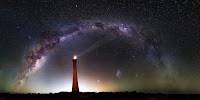 Milky Way Galaxy seen over Guilderton Lighthouse