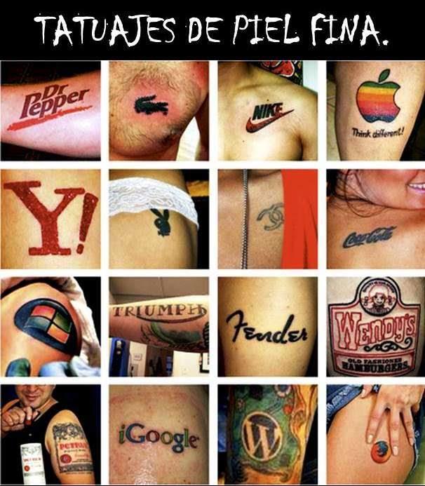 ejemplos de publicidad de tatuajes