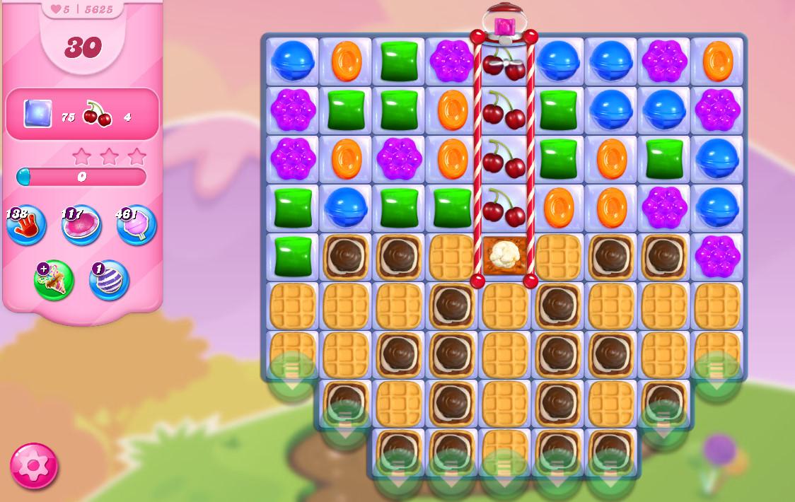 Candy Crush Saga level 5625