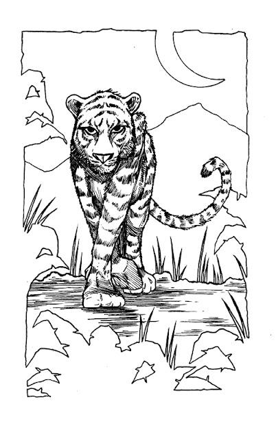 Tiger Inks - John Prisk