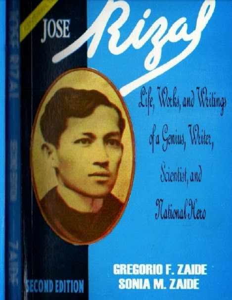 Jose Rizal Book By Zaide Pdf