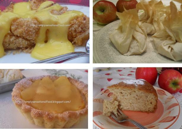 German Apple Upside Down Cake