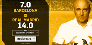 betfair supercuota victoria Barcelona vs Real Madrid Super Copa España 13 agosto
