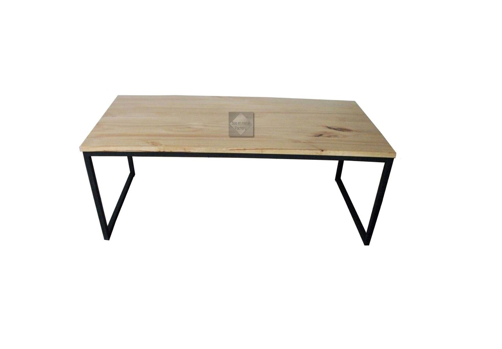 bois et metal factory. Black Bedroom Furniture Sets. Home Design Ideas