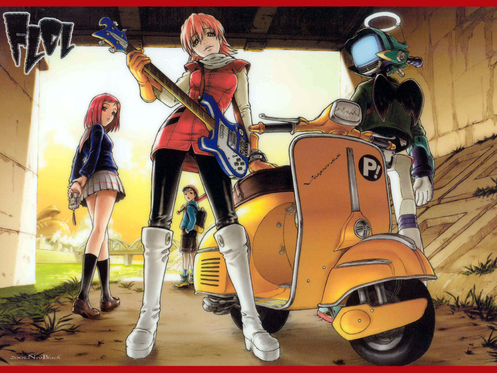 Jays 39 tee vee flcl fooly cooly it 39 s a weird 39 un - Flcl haruko haruhara ...