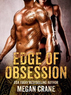 romance novel covers, dystopian romance, Edge of Obsession by Megan Crane