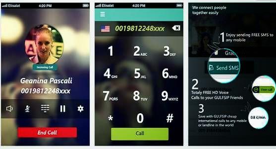 التطبيق GULFSIP Free Calls