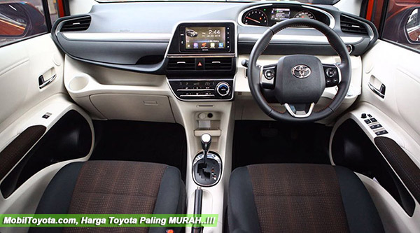 Kabin Interior Toyota All New Sienta