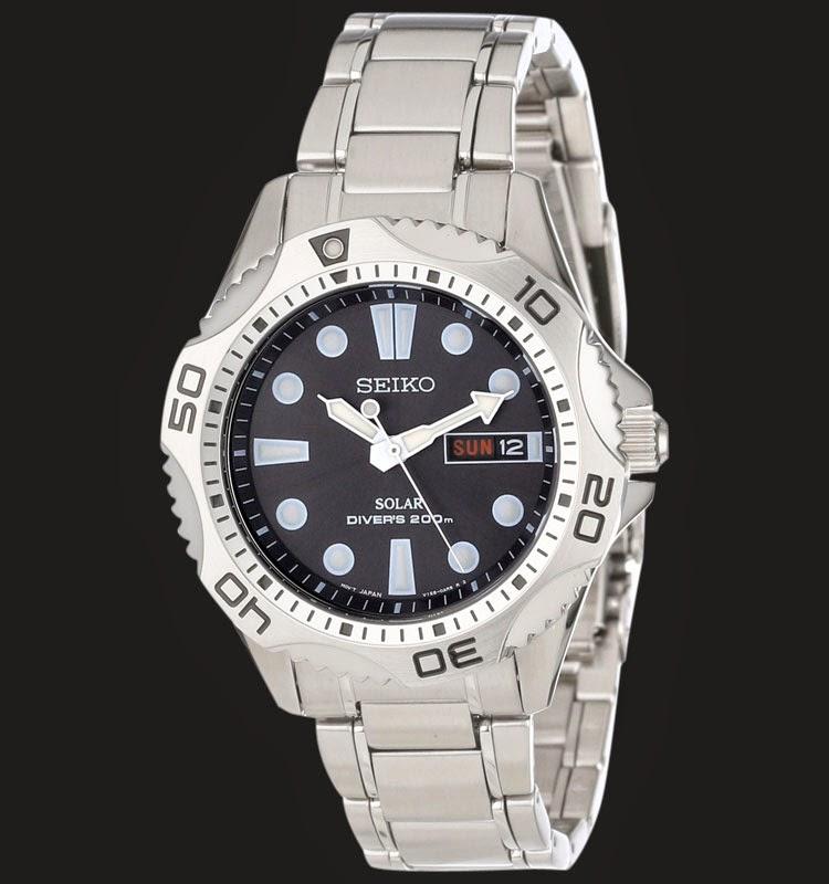Seiko Solar Diver SNE107P1