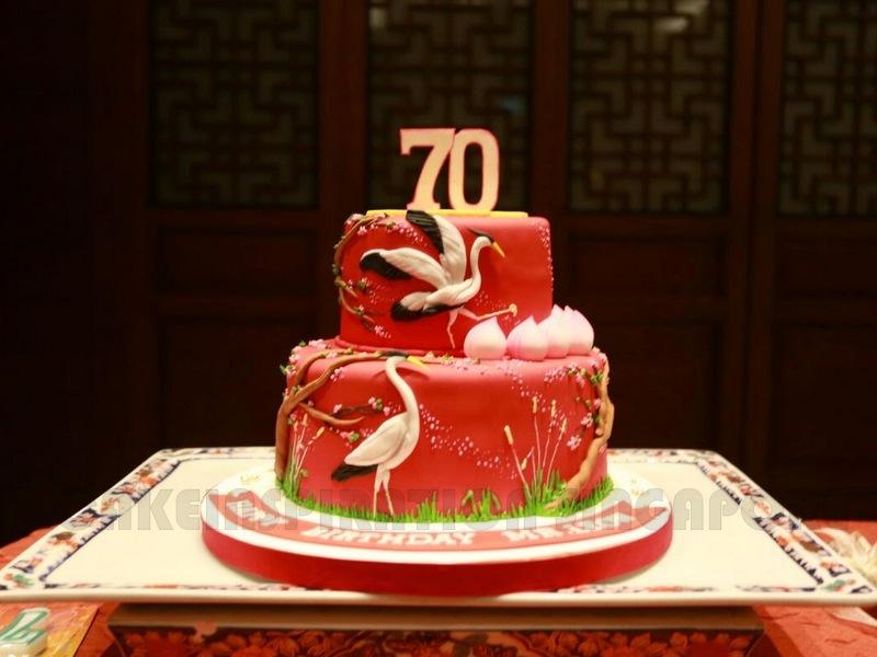 The Sensational Cakes Shuo Chinese Longevity Cake