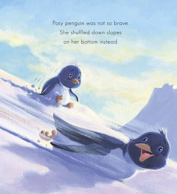 Not-So-Brave Penguin - a bookwrap
