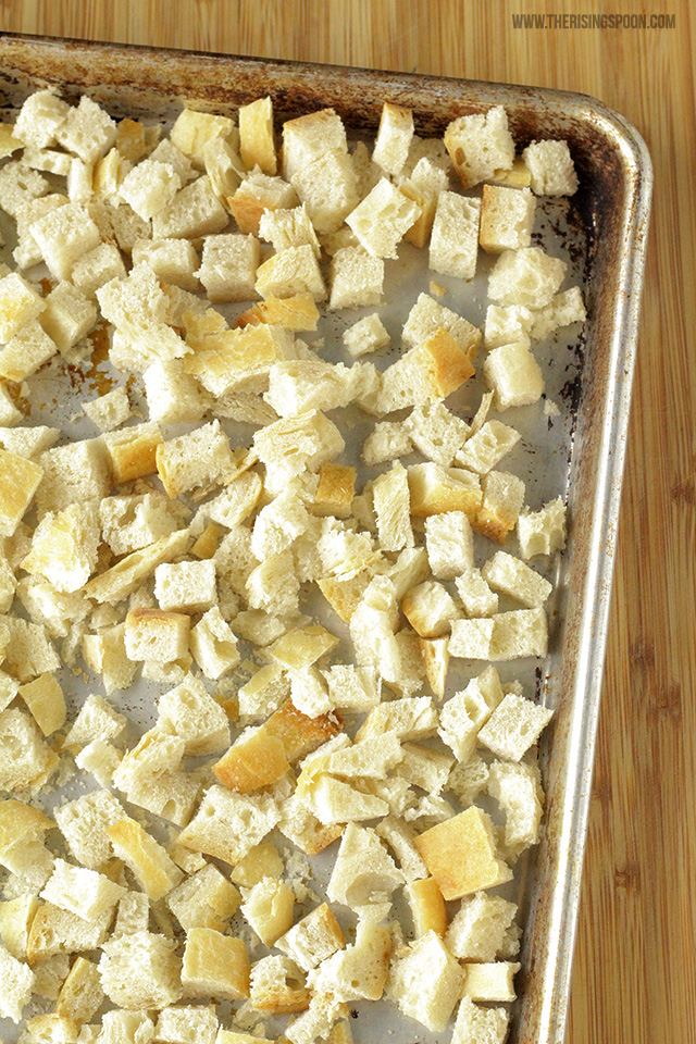 Easy Homemade Croutons Recipe