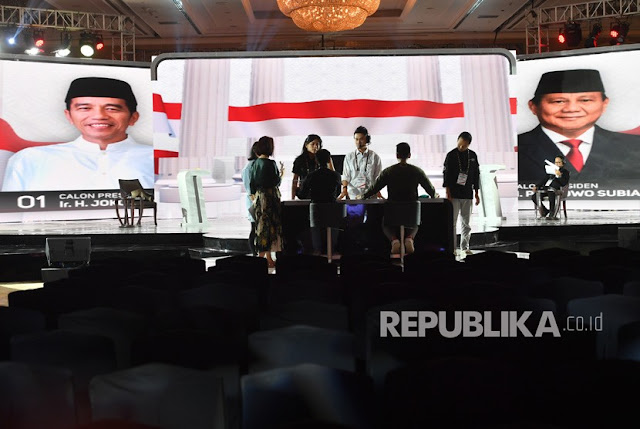 Jokowi dan Prabowo akan Debat Selama Dua Jam