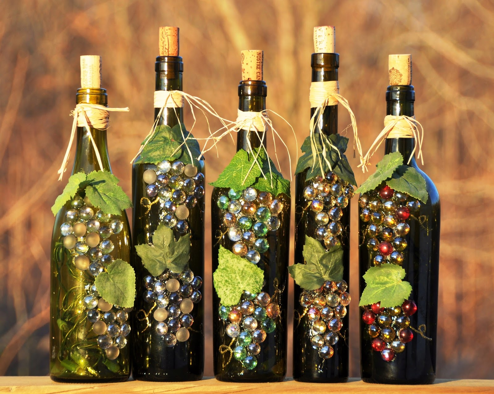 ... wine bottle in your home you can re use those empty wine bottle into a