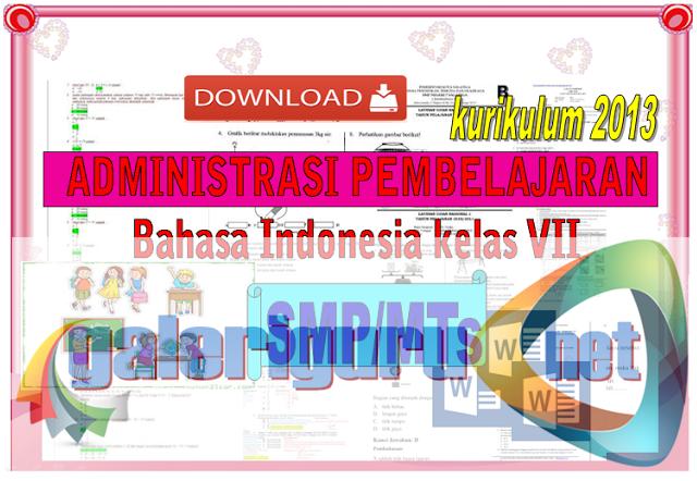 Bahasa Indonesia (Administrasi) Guru SMP Lengkap