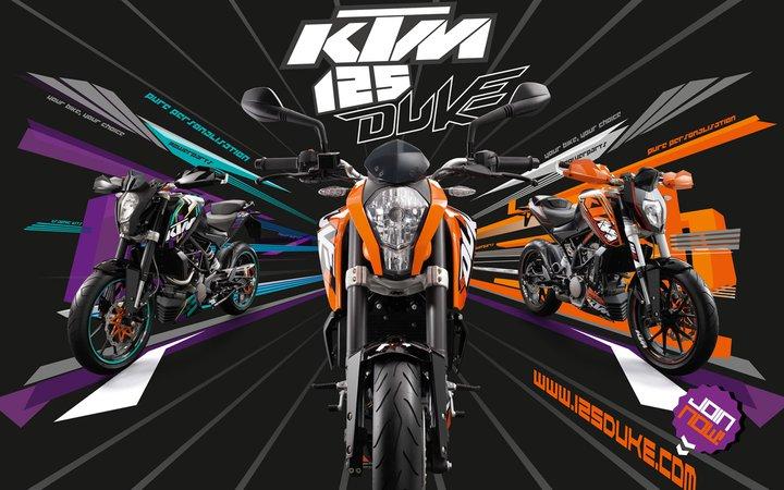 automobile zone: ktm duke 125 india launch price, features