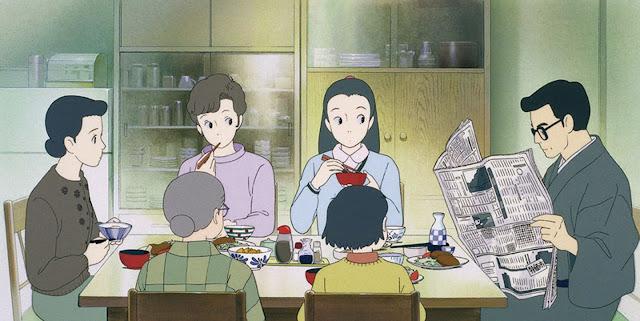 Película Recuerdos del Ayer de Studio Ghibli, dirigida en 1991 por Isao Takahata