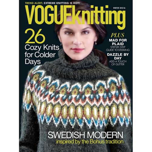 7e0af7dcda41 The Knitting Needle and the Damage Done  Vogue Knitting Winter 2015 ...