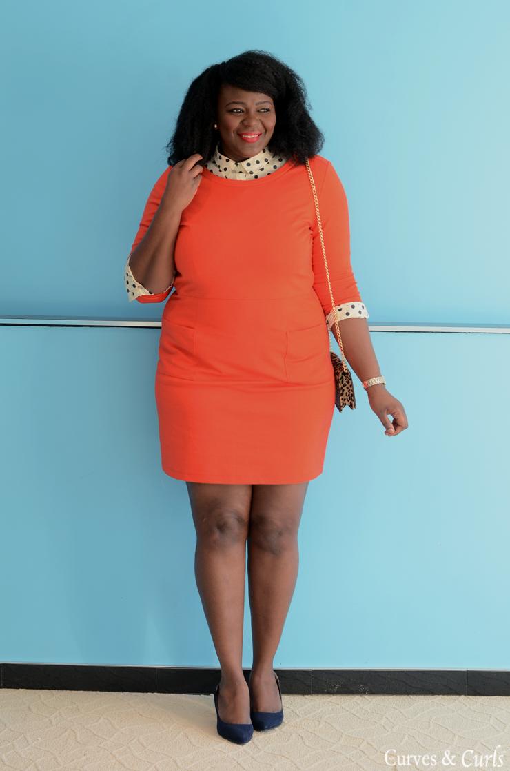 b5b8255cd66 5 ways to wear a polka dot blouse  closetremix  plussize  curves   mycurvesandcurls