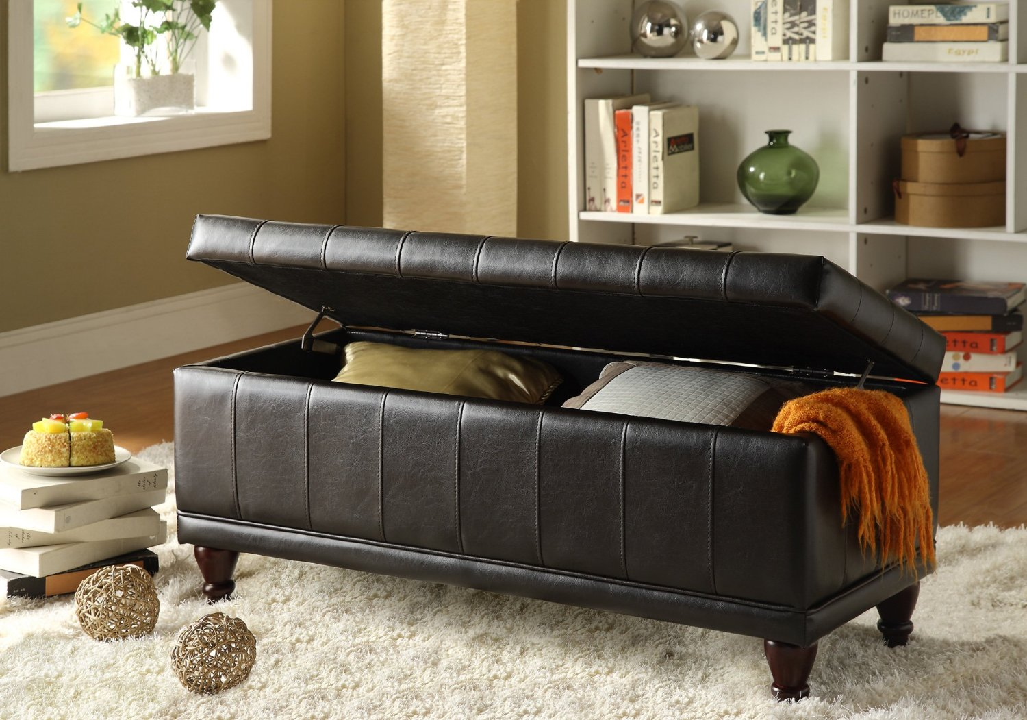Total Fab: Bedroom Storage Bench Seat
