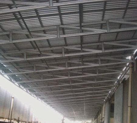 model rangka baja ringan kanopi canopy cikarang: pasang ...