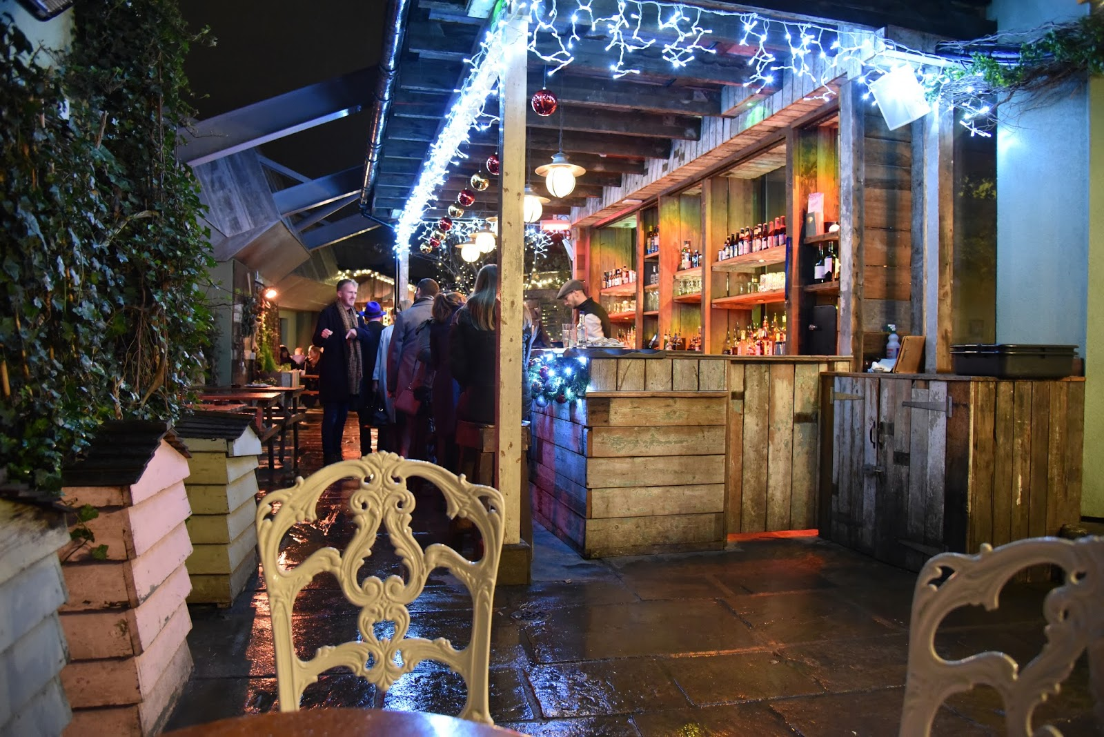 The Botanist Newcastle's Winter Roof Terrace 2016. A perfect spot for spiced cider, sloe gin and mulled wine.