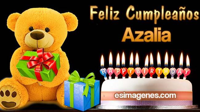 Feliz Cumpleaños Azalia