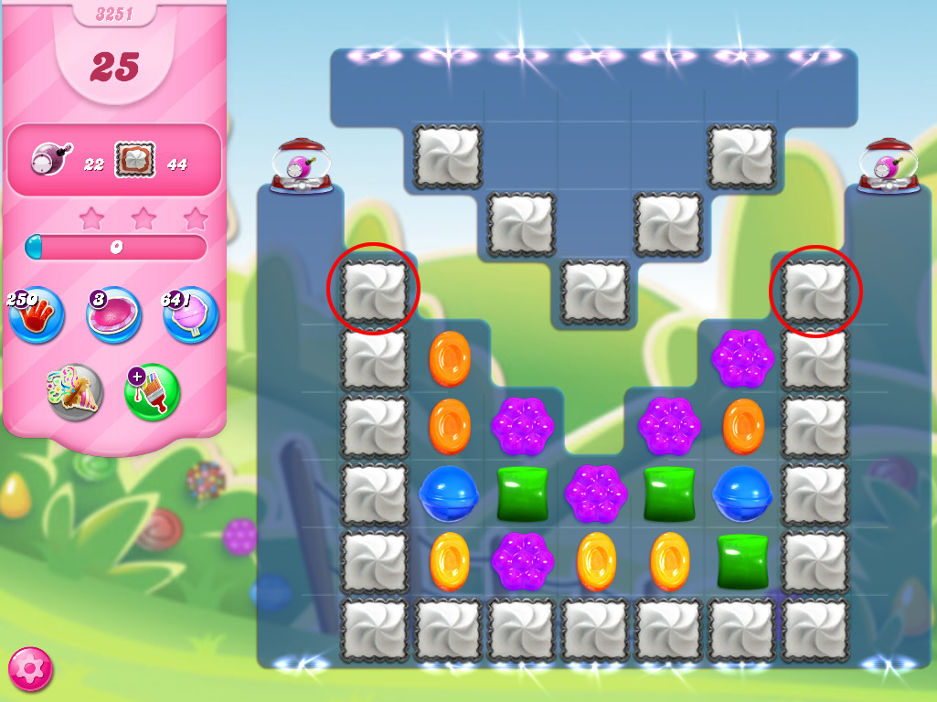 Candy Crush Saga level 3251