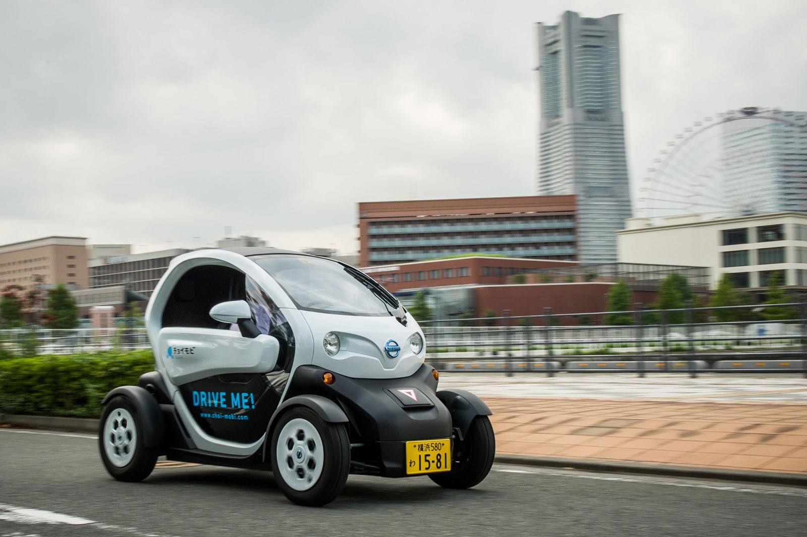 Συνεργασία της Nissan με υπηρεσία κοινής χρήσης αυτοκινήτων στην Ιαπωνία