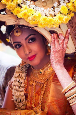 Stunning Photo Of Gorgeous South Indian Bride.