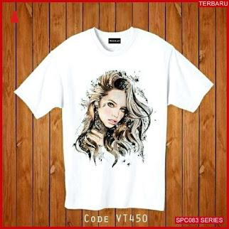 SCP083E52 Eva Tee Shirt T Atasan Wanita   BMGShop