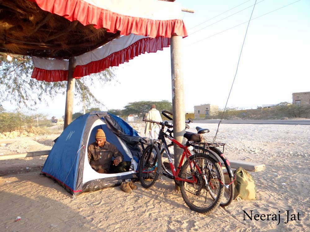 थार साइकिल यात्रा- सानू से तनोट