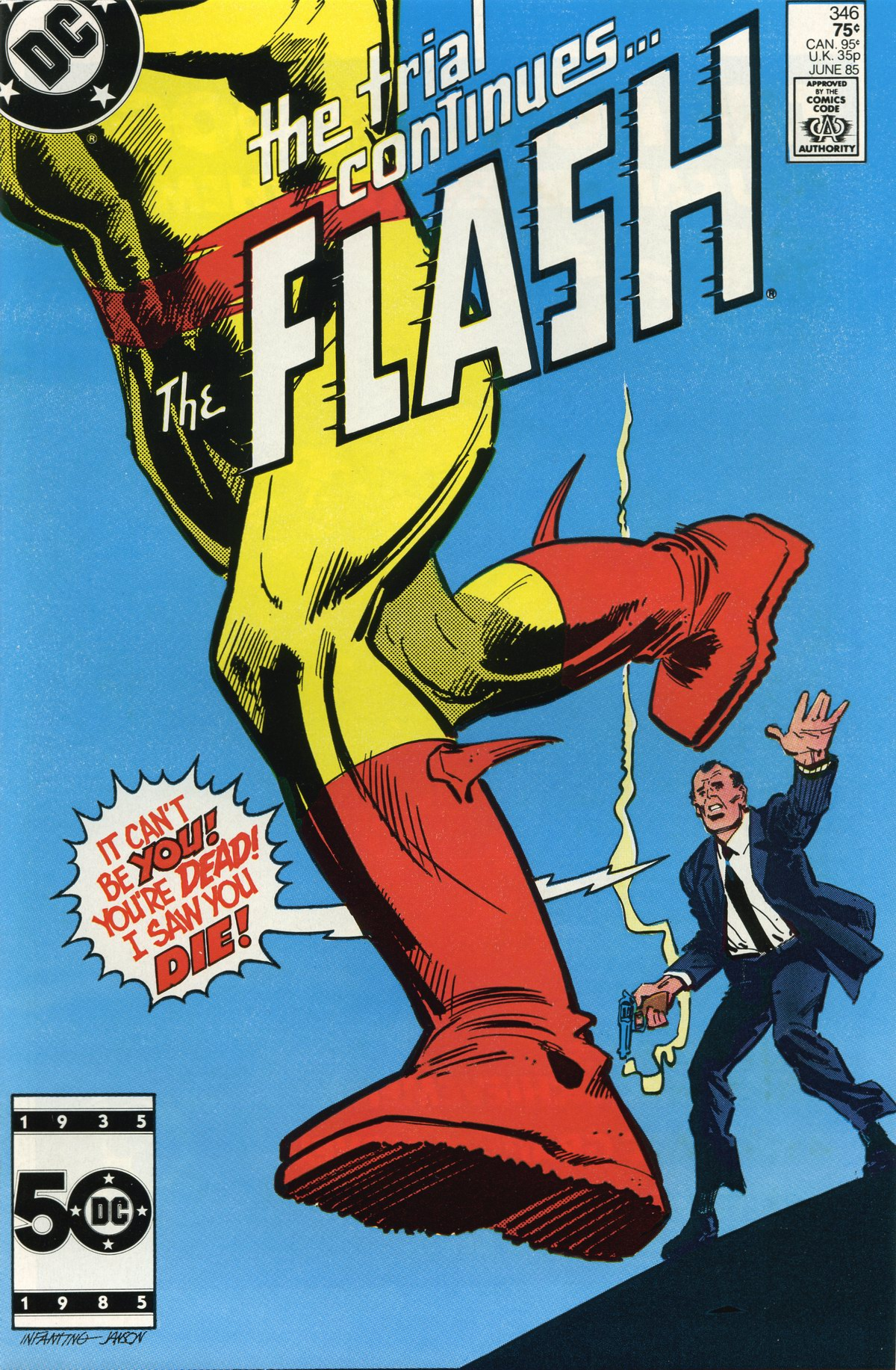 The Flash (1959) 346 Page 1