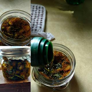 Dandelion Infused Olive Oil