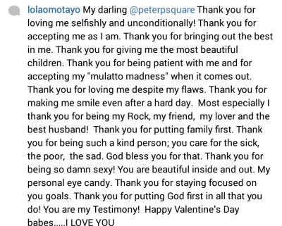 in the same vein she the exchange of love and gifts between toolz and her boo captain demuren also see amber rose and rapper wiz khalifas first pic - Valentines Messages For Him