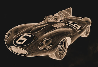 Jaguar D-Type - 1955.