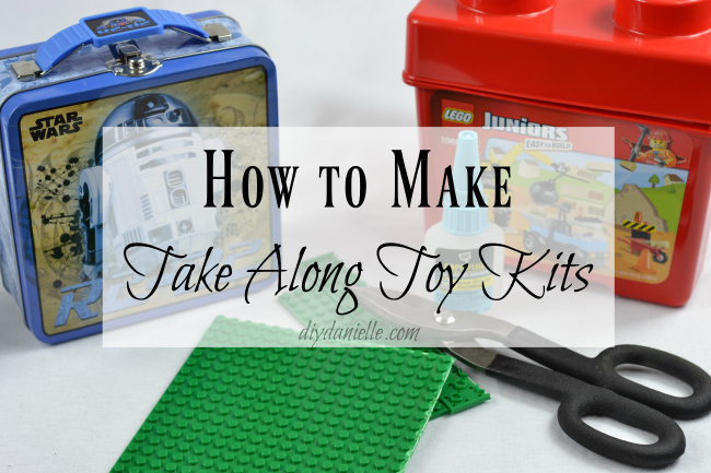 DIY Take Along Toy Kits