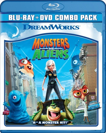 Monsters vs Aliens 2009 Dual Audio Hindi Bluray Download