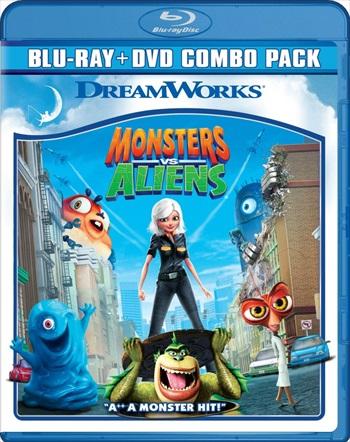 Monsters vs Aliens 2009 Dual Audio Hindi Bluray Download