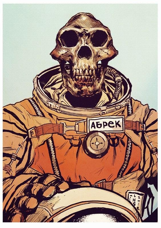 Abrek the Cosmonaut