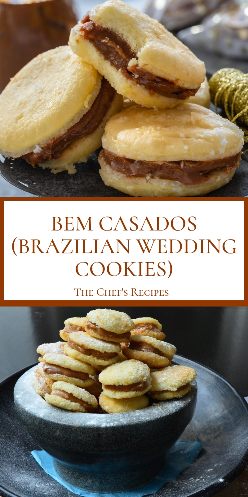 BEM CASADOS (BRAZILIAN WEDDING COOKIES)