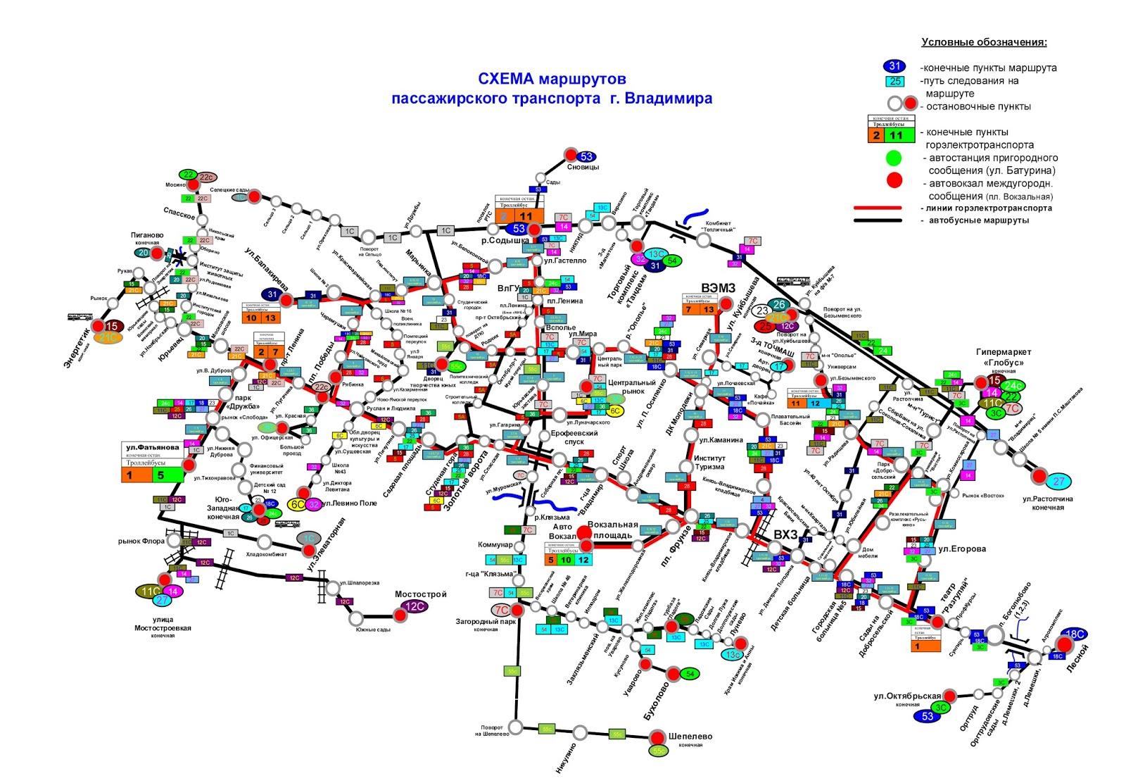 Владимирцы смогут проголосовать за новую городскую схему движения.